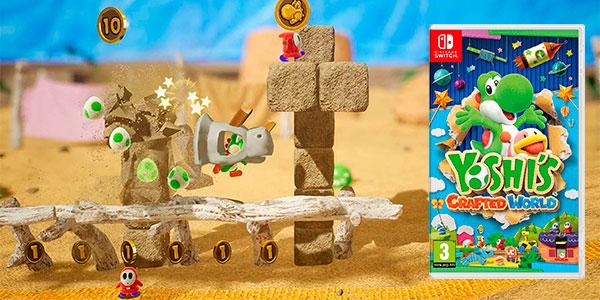 Chollo Yoshi's Crafted World para Switch