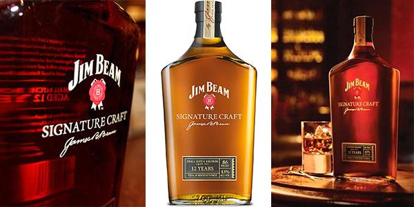 Chollo Whisky Jim Beam Signature Craft 12 Años de 700 ml