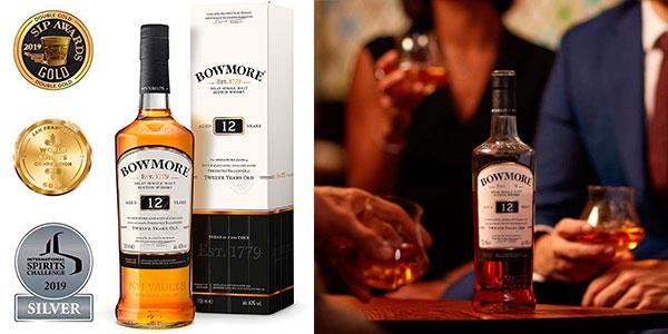 Chollo Whisky Bowmore 12 Años de 700 ml