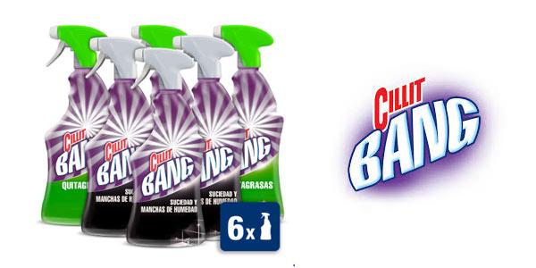Pack de 6 botellas Cillit Bang barato en Aliexpress