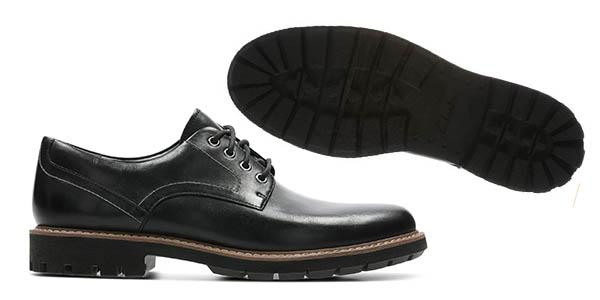 Chollazo Zapatos Clarks Batcombe Hall Derby para hombre por