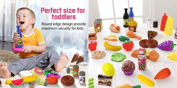 comida de plástico de juguete infantil Joylink chollo
