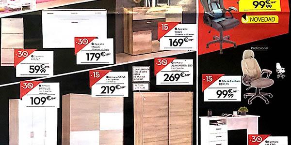 Conforama Black Friday 2019 ofertas armarios
