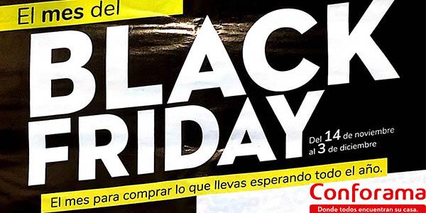 Conforama Black Friday 2019