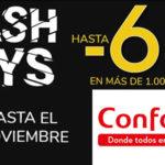 Conforama Fly Days promoción muebles