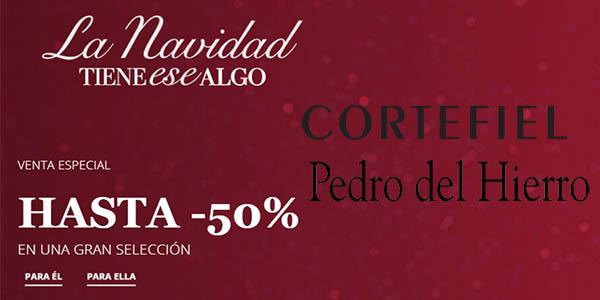 Cortefiel y Pedro del Hierro ofertas Navidad moda