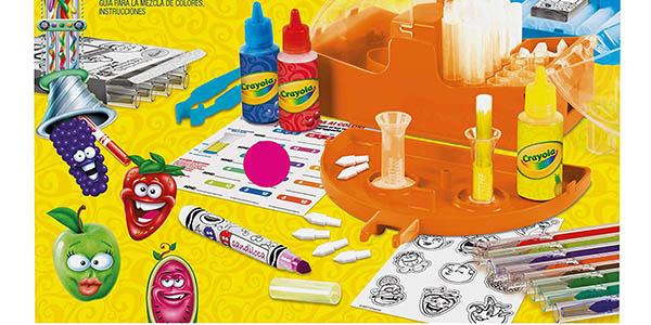 Crayola Laboratorio de rotuladores perfumados oferta