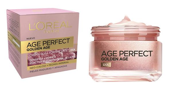 Crema Rosa Anti Arrugas L'Óreal Paris Age Perfect Golden Age de 50 ml barata en Amazon