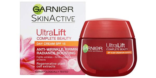 Crema de Día Anti Arrugas Garnier Ultra Lift Complete Beauty SPF15 de 50 ml barata en Amazon