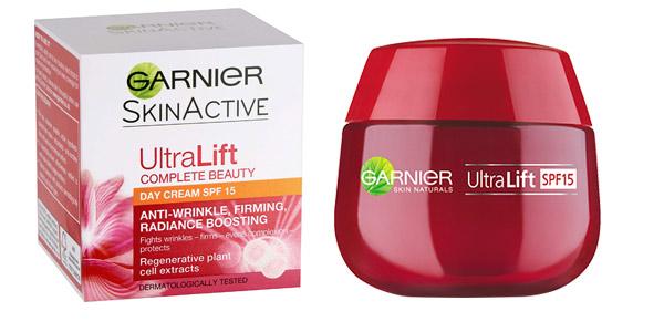 Crema de Día Anti Arrugas Garnier Ultra Lift Complete Beauty SPF15 de 50 ml chollo en Amazon