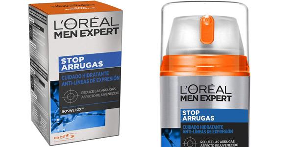 Crema hidratante L'Oréal Paris Men Expert Stop Arrugas de 50 ml barata en Amazon