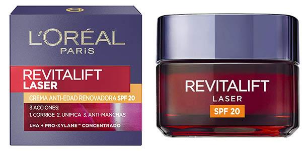 Crema de día anti-edad L'Oreal Paris Revitalift Laser SPF20 de 50 ml