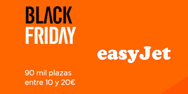 Easyjet Black Friday 2019