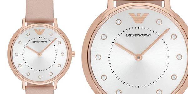 Emporio Armani AR2510 reloj de pulsera de cuero elegante oferta