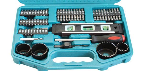Kit 101 piezas Makita 98C263 para taladrar y atornillar chollazo en Amazon