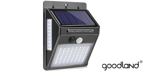 Foco LED Goodland para exterior con sensor de movimiento