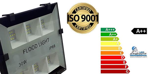 focos LED de 30W Atomant relación calidad-precio estupenda