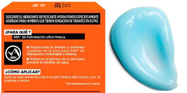 Gel hidratante L'Óreal Men Expert Hydra Power de 50 ml barato