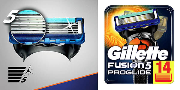 Gillette Fusion5 Proglide recambios baratos
