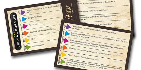 Harry Potter Trivial Pursuit inglés chollo