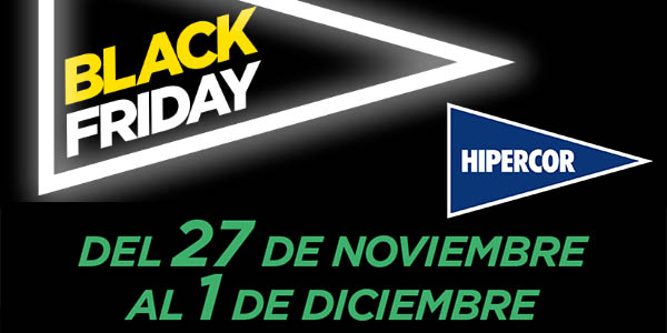 Hipercor Black Friday 2019