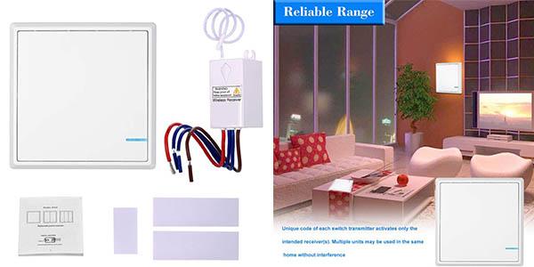 interruptor para control remoto para lámparas sin instalación Kkmon oferta