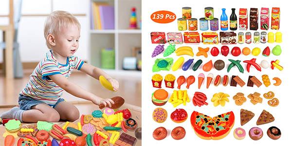Joylink piezas de comida de juguete baratas