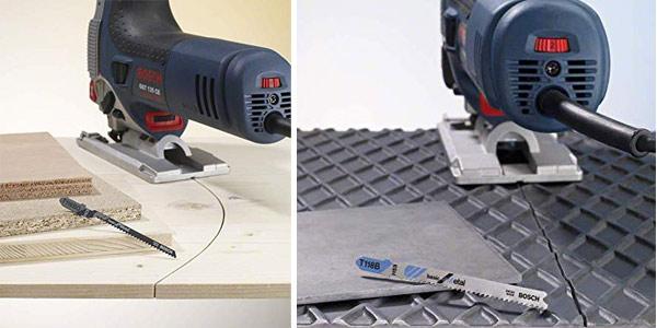 Juego x10 Hojas de sierra de calar básica Bosch 2607010630 para Metal y Madera chollo en Amazon