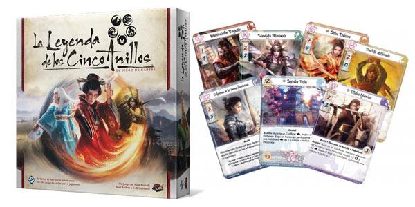 Juego de mesa La Leyenda de los Cinco Anillos (Fantasy Flight Games FFL5C01) barato en Amazon