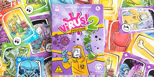 Juego de cartas Virus2! Evolution (Expansion) Trajis Games chollo en Amazon
