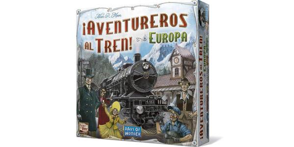 Juego de Mesa ¡Aventureros al tren! Europa (Days of Wonder LFCABI127) barato en Amazon