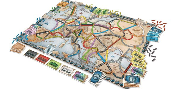 Juego de Mesa ¡Aventureros al tren! Europa (Days of Wonder LFCABI127) chollo en Amazon