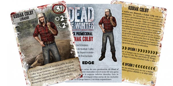 Juego de mesa Dead of Winter (EdgeEntertainment EDGXR01) chollo en Amazon
