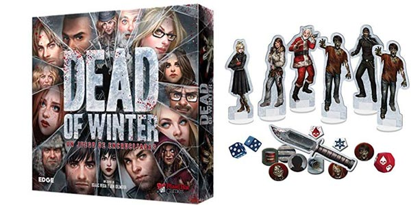 Juego de mesa Dead of Winter (EdgeEntertainment EDGXR01) barato en Amazon