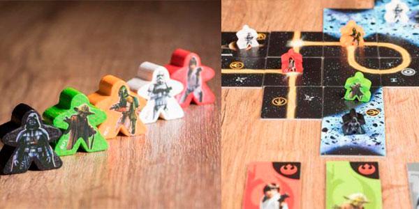 Juego de mesa Carcassonne de Star Wars barato