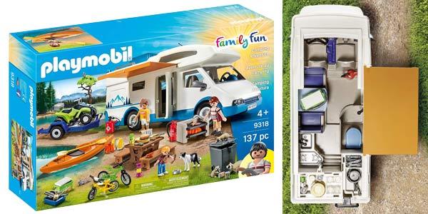 Caravana Playmobil Family Fun 9318 Camping Aventura chollo en Amazon