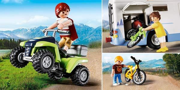 Caravana Playmobil Family Fun 9318 Camping Aventura chollazo en Amazon
