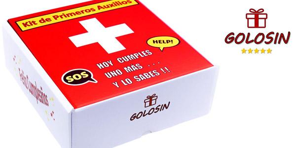 Kit de Primeros Auxilios Golosin para cumpleaños barato en Amazon