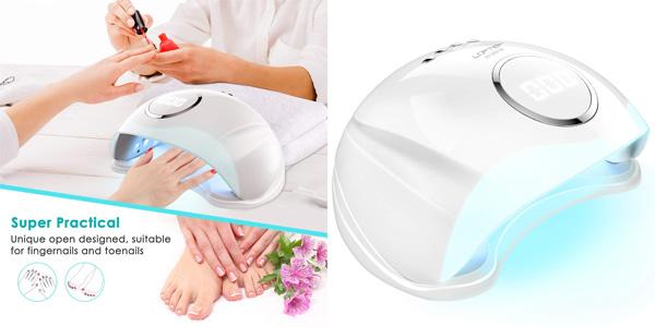 Lampara LED Profesional LOFTER de 48W para secar uñas barata en Amazon