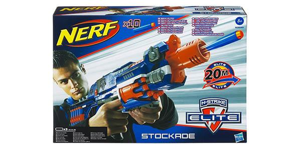 Lanzador Nerf Elite Stockade barato