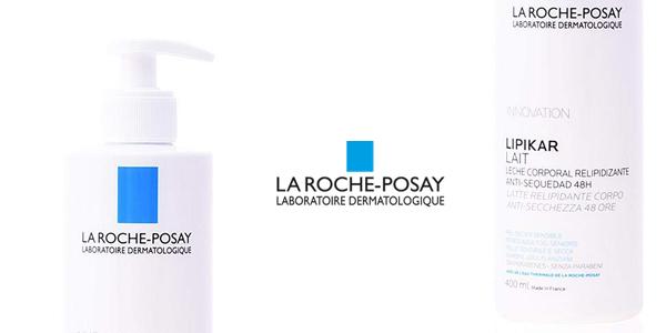 Leche Corporal hidratante La Roche-Posay Lipikar de 400 ml chollo en Amazon