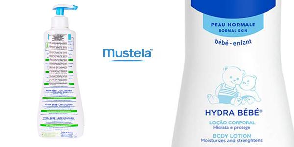 Loción corporal hidratante Mustela Hydra Bebé de 500 ml chollo en Amazon
