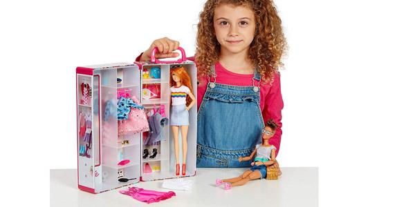 Maletín Guardarropa Barbie Theo Klein (5801) para muñecas chollazo en Amazon