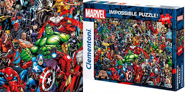 Rompecabezas Marvel Impossible Puzzle de 1.000 piezas barato
