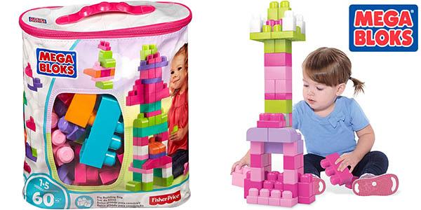 Chollo Bolsa Mega Bloks con 60 bloques de construcción