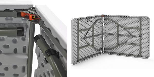 Mesa plegable para uso exterior e interior KitGarden chollo