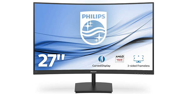 """Monitor Curvo Philips 271E1SCA/00 de 27"""" Full HD"""