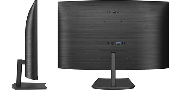 "Monitor Curvo Philips 271E1SCA/00 de 27"" Full HD en Amazon"