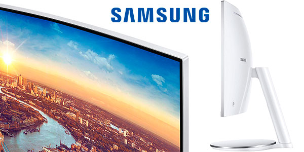 "Monitor curvo Samsung Thunderbolt 3 QLED de 34"" barato"