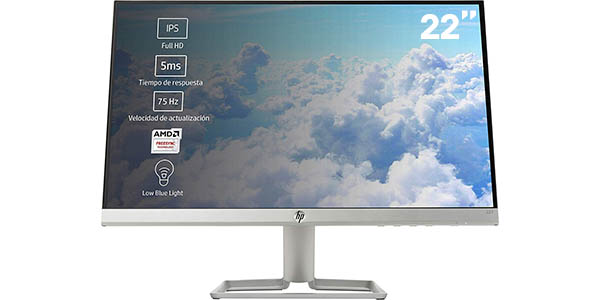 "Monitor LED HP 22f de 22"" Full HD"